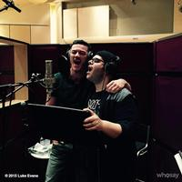 Twitter Watch: Luke Evans and Josh Gad in the Studio for BEAUTY AND THE BEAST