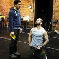 Twitter Watch: Will Swenson Confronts Ramin Karimloo in LES MISERABLES Rehearsals!