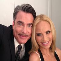 Twitter Watch: Kristin Chenoweth Poses with TWENTIETH CENTURY Costar Peter Gallagher