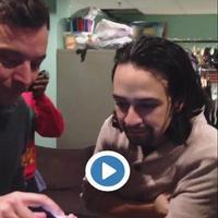 Twitter Watch: Lin-Manuel Miranda Raps for Jimmy Fallon's Outgoing Voicemail Message!