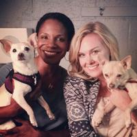 Twitter Watch: Laura Bell Bundy Reunites with 'Bruiser' at LADY DAY!