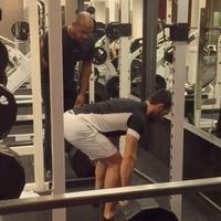Twitter Watch: Ramin Karimloo Practices His 'Valjean' Deadlifts
