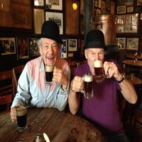 Twitter Watch: Broadway Sirs Patrick Stewart and Ian McKellen Grab a Pint -- Or Two!