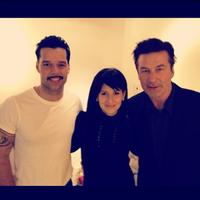 Twitter Watch: Ricky Martin-'With the One and Only Alec Baldwin and His Lovely Wife at EVITA'