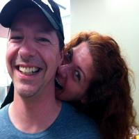 Twitter Watch: Sean Hayes Reunites with Debra Messing on SMASH Set!