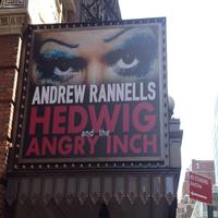 Twitter Watch: First Look at Rannells on New HEDWIG AND THE ANGRY INCH Marquee