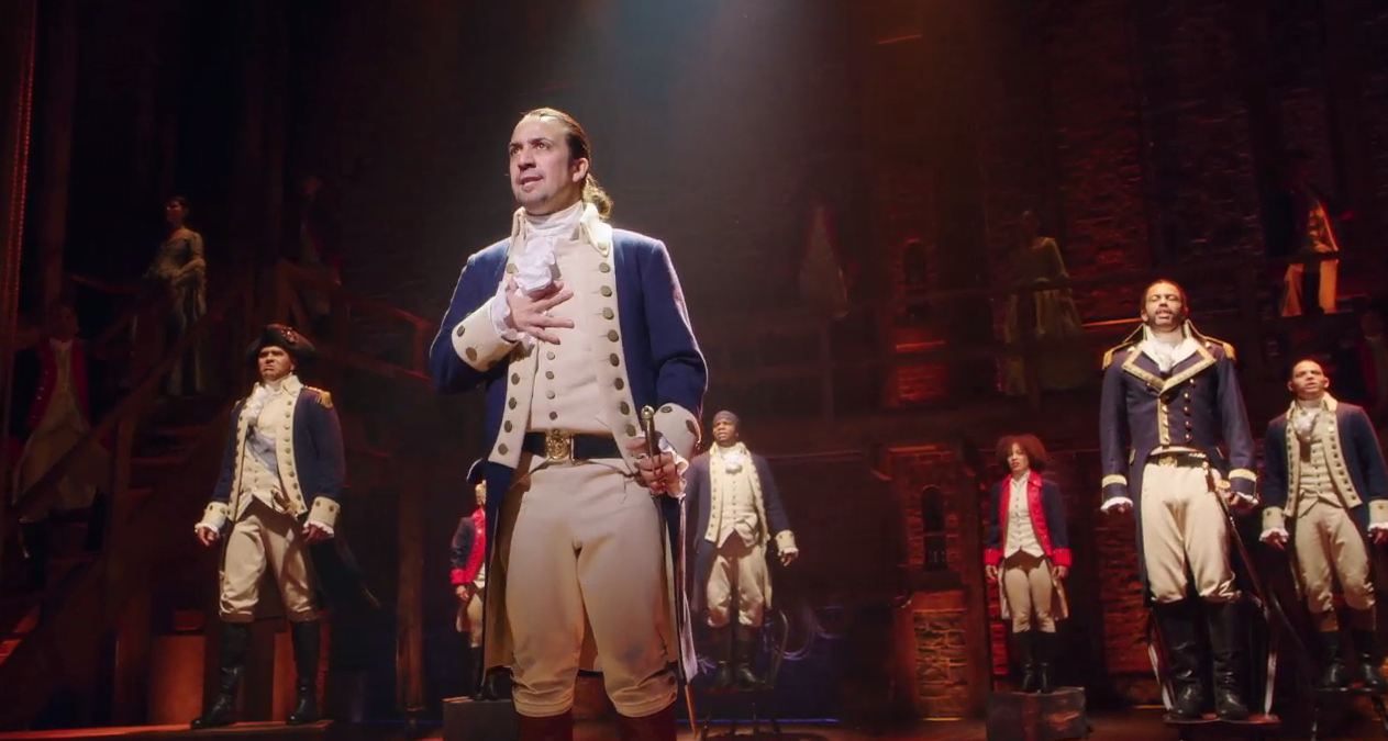 Watch Scenes From Lin Manuel Mirandas HAMILTON On Broadway Video