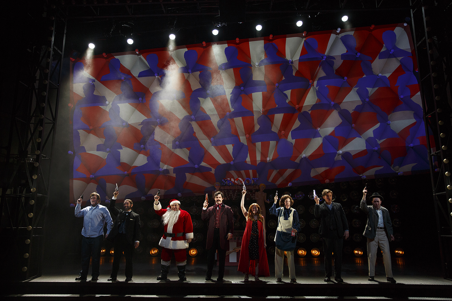 BWW Review: ASSASSINS at Yale Repertory Theatre