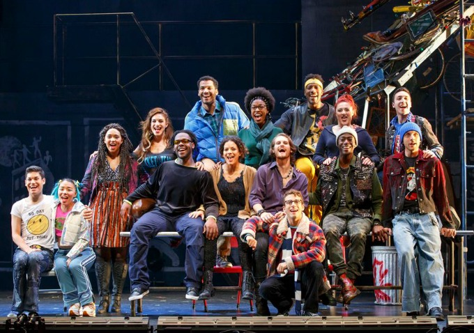 BWW Review: RENT at Hippodrome Fills Hearts With Its Message of Love