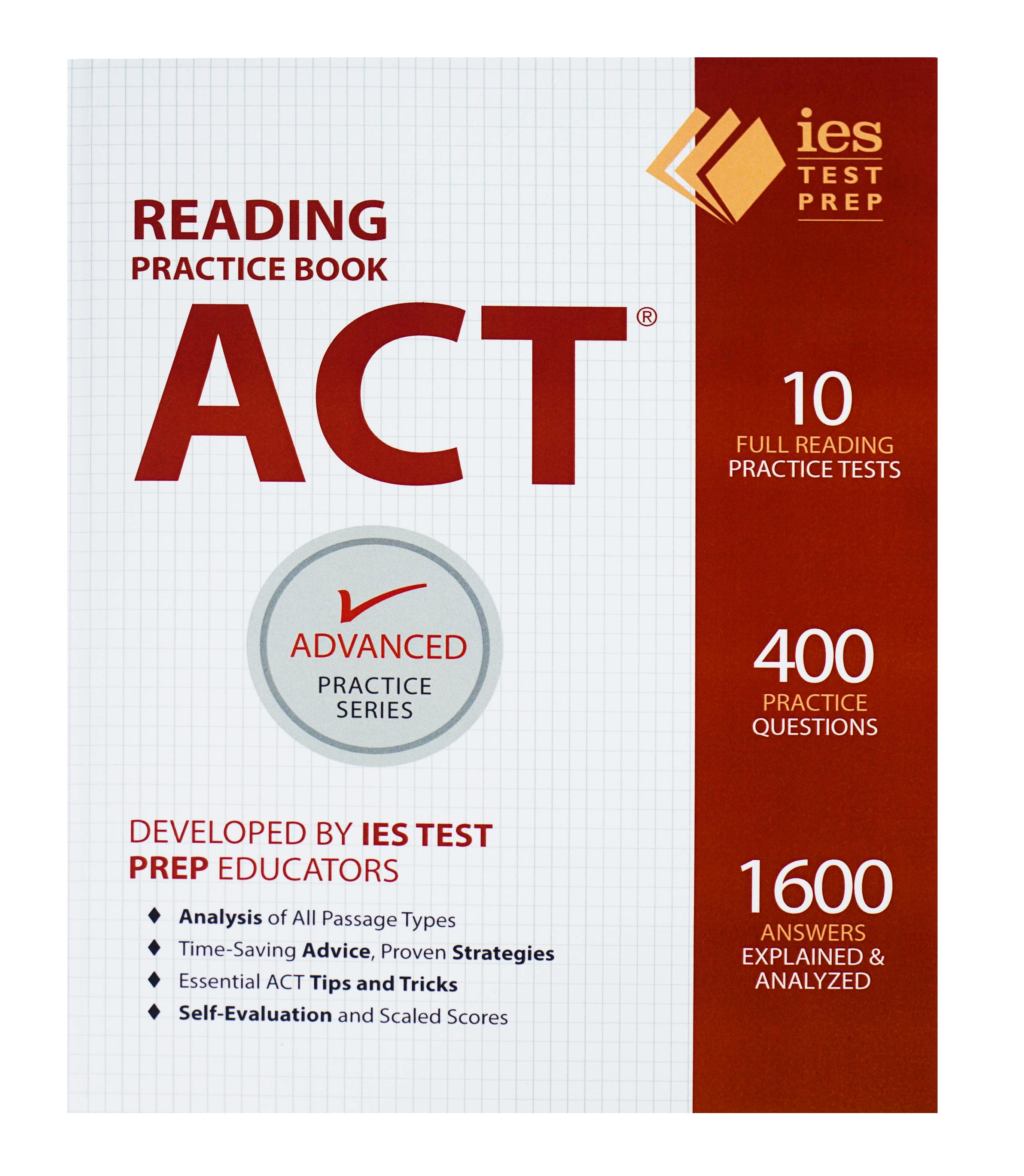BWW Reviews: ACT READING PRACTICE BOOK By IES Is An