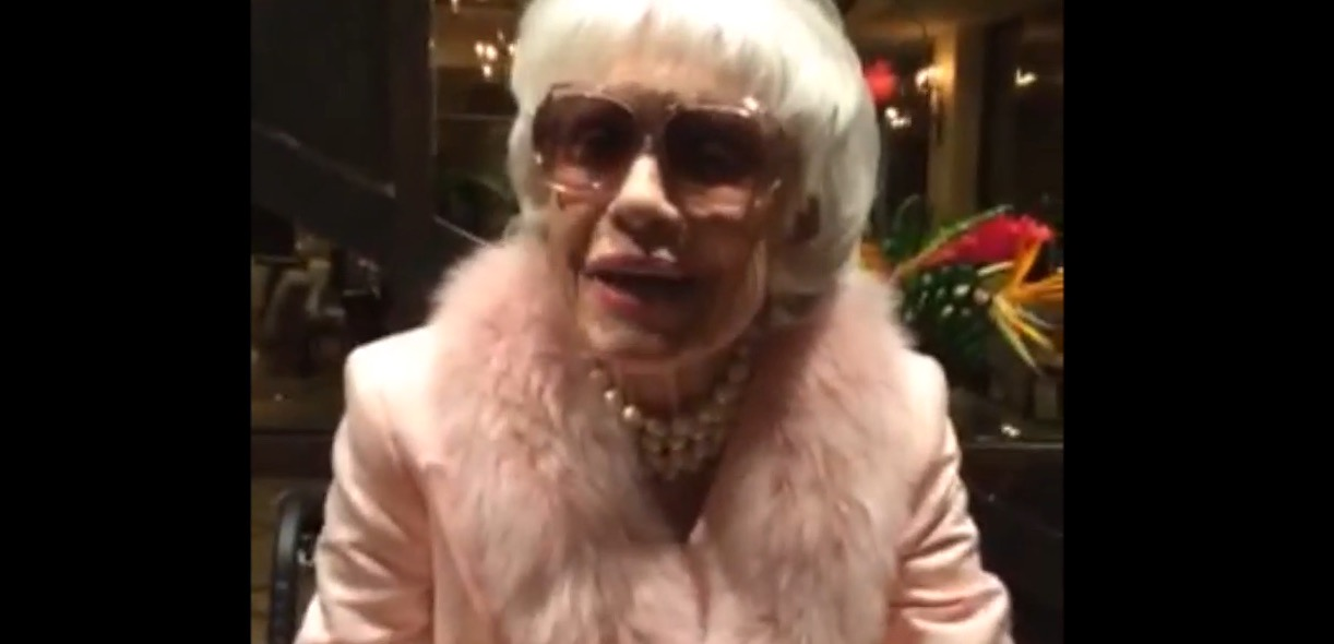 BWW TV: Carol Channing Thanks Fans for Birthday Love!