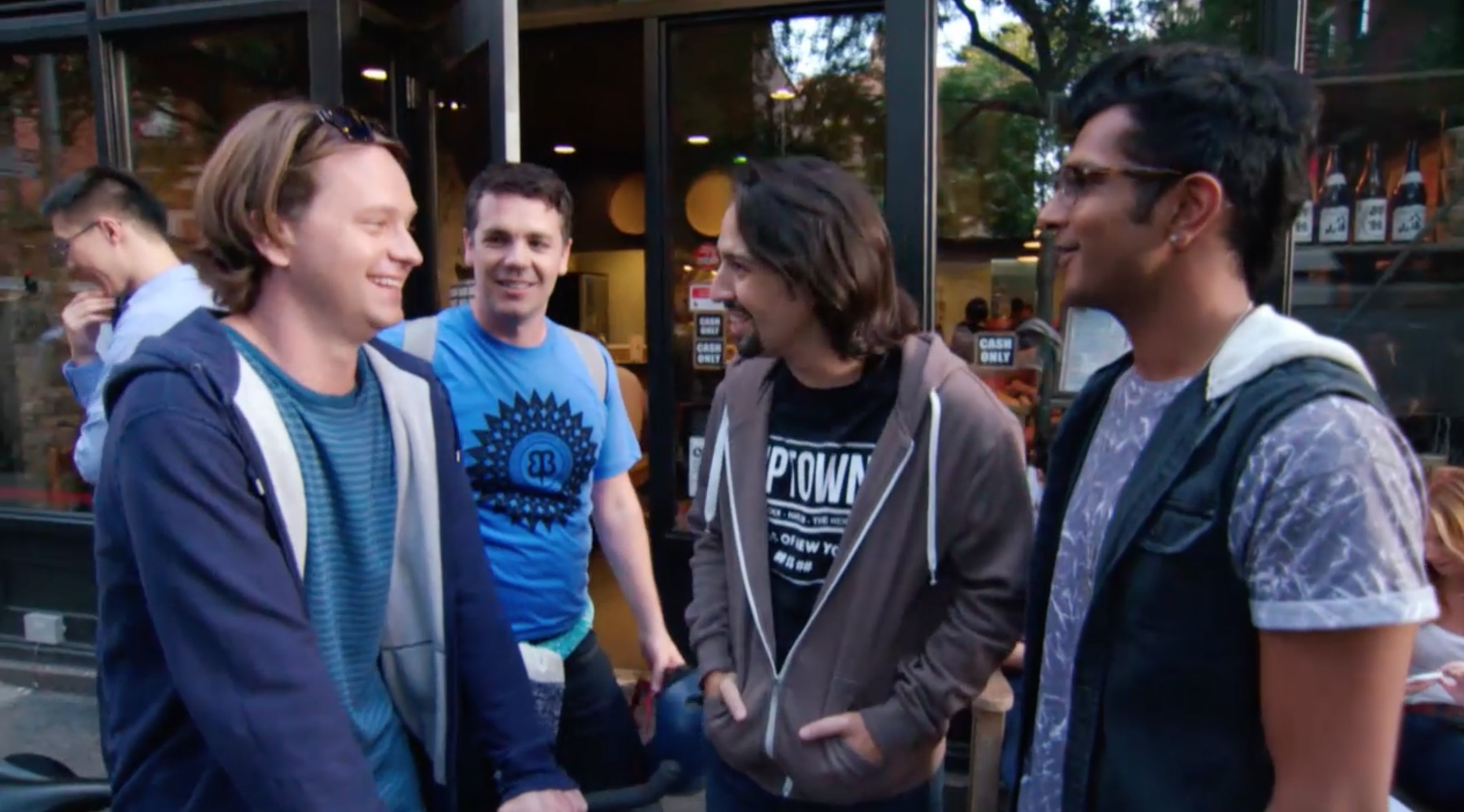 BWW TV Exclusive: Watch Lin-Manuel Miranda & Company in the Premiere Episode of Seeso's FREESTYLE LOVE SUPREME!