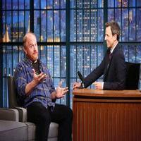 VIDEO: Louis C.K. Talks 'Louie', Hosting SNL & More on LATE NIGHT