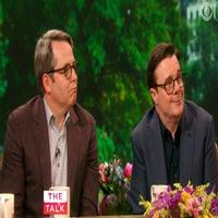 VIDEO: IT'S ONLY A PLAY's Matthew Broderick & Nathan Chat 'Man-Spreading' & More on 'The Talk'