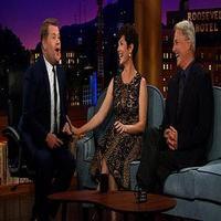 VIDEO: Zoe McLellan & Mark Harmon Guest on CBS's JAMES CORDEN