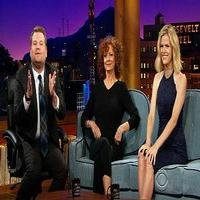 VIDEO: Susan Sarandon & Brooklyn Decker Visit JAMES CORDEN