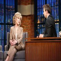 VIDEO: Jane Fonda Talks New Series 'Grace and Frankie' on LATE NIGHT