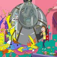 VIDEO: First Look - Adult Swim's 'Rick and Morty' to Invade THE SIMPSONS