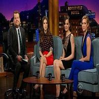 VIDEO: Anna Kendrick & James Corden Talk 'Into the Woods' & More on LATE LATE SHOW