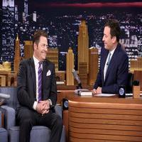 VIDEO: Nick Offerman Talks Working with Wife Megan Mullally on TONIGHT SHOW