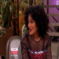VIDEO: Tracee Ellis Ross Chats 'Black-ish' & Teaches THE TALK Hosts 'Arm Dancing'