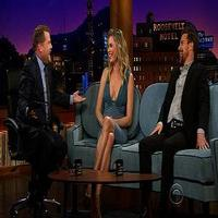 VIDEO: Rebecca Romijn & Sam Rockwell Visit JAMES CORDEN