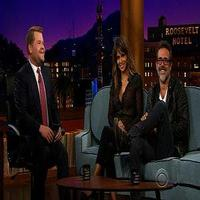 VIDEO: Halle Berry & Jeffrey Dean Morgan Talk Letterman, Selfies on CORDEN