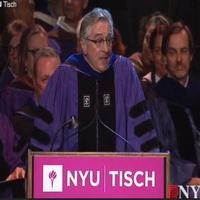VIDEO: Robert De Niro Tells Students, 'You're F*cked'