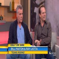 VIDEO: Ray Liotta, Bill Paxton Talks History Channel's New Miniseries TEXAS RISING