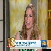 VIDEO: 'Veep' Star Anna Chlumsky Talks HBO White House Comedy