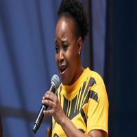 BWW TV: Gugwana Dlamini Sings from THE LION KING in Shubert Alley!