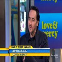 VIDEO: John Cusack Talks Taking on Beach Boys Legend in 'Love and Mercy'