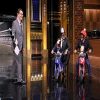 VIDEO: Jimmy Challenges Triple Crown Jockey Espinoza to Motorcycle Derby Race