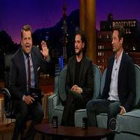VIDEO: David Duchovny and Kit Harrington Visit JAMES CORDEN