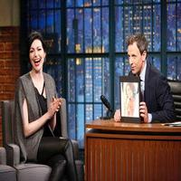 VIDEO: Laura Prepon Talks New Season of OITNB on LATE NIGHT