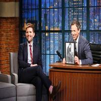 VIDEO: Adam Scott Talks New Film 'The Overnight' on LATE NIGHT
