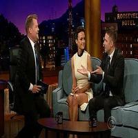 VIDEO: Chris Hardwick and Carla Gugino Visit JAMES CORDEN