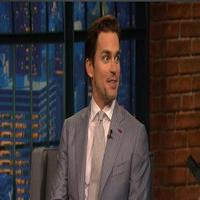 VIDEO: Matt Bomer Talks Singing & Stripping in 'Magic Mike' on LATE NIGHT