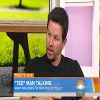 VIDEO: Mark Wahlberg Talks TED 2 on 'Today'