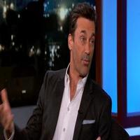 VIDEO: Jon Hamm Reveals Alternate MAD MEN Ending on JIMMY KIMMEL