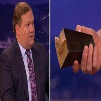 VIDEO: Watch Andy Richter Break the CONAN Couch!