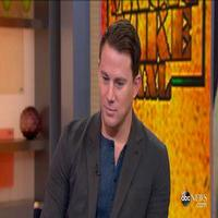 VIDEO: MAGIC MIKE's Channing Tatum Talks Dance Skills & More on GMA