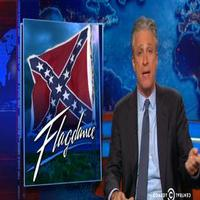 VIDEO: Jon Stewart Presents Confederate 'Flagdance' on DAILY SHOW