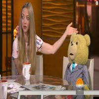 VIDEO: Amanda Seyfried Talks Acting With Invisible Co-Star in TED 2