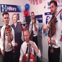 STAGE TUBE: Well-Strung Rallies for Hillary Clinton with Political Jam 'Chelsea's Mom'