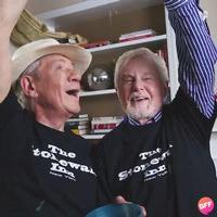 STAGE TUBE: NYC PRIDE PARADE Grand Marshals Ian McKellen and Derek Jacobi Get the Confetti Flying Early!