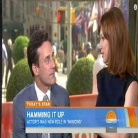 VIDEO: Jon Hamm Talks 'Minions,' Reunites With Ellie Kemper on TODAY