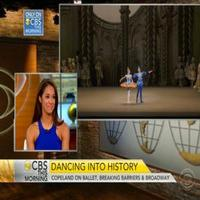 STAGE TUBE: American Ballet Theatre's Misty Copeland on Joining Broadway's ON THE TOWN