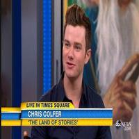 VIDEO: Chris Colfer Reveals He's 'In Talks' to Bring LAND OF STORIES to Big Screen