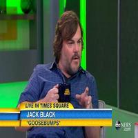 VIDEO: Jack Black Gives First Look at GOOSE BUMPS; Mourns Loss of Jerry Weintraub